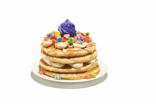 IHOP's new Cereal Pancakes and Shakes are limited-edition menu items.