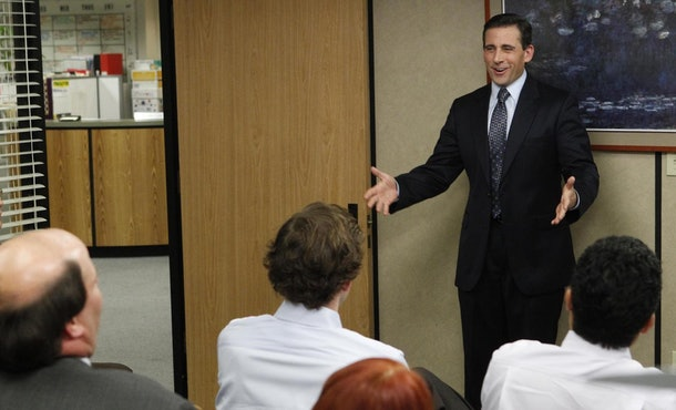 Steve Carell left 'The Office' at the end of Season 7.