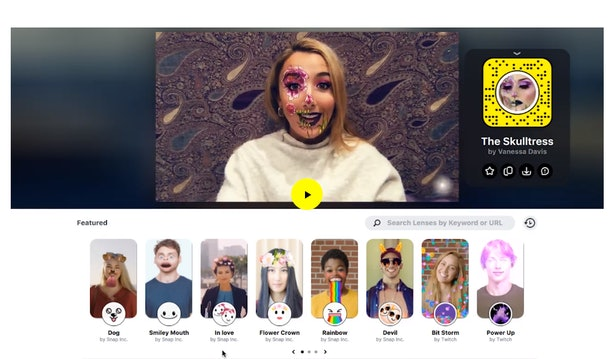 Here's how to use Snapchat Lenses on Zoom to have more fun chatting.