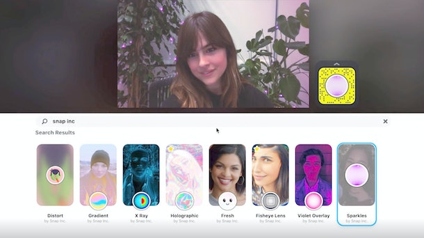 Here's how to use Snapchat Lenses on Zoom for some fun video chats.