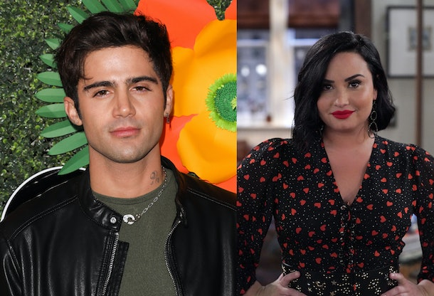 Is Demi Lovato dating Max Ehrich? It certainly looks like it.