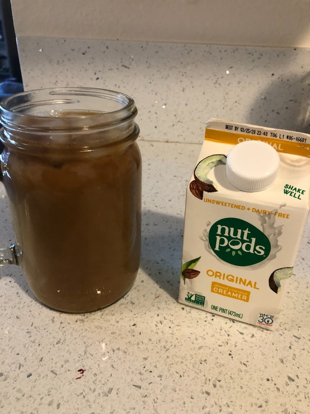 I tried Emma Chamberlain's iced coffee recipe