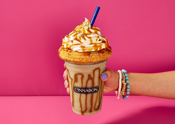 Cinnabon's new Churro Chillatta drink will be retailing for $6.29 at mall locations.