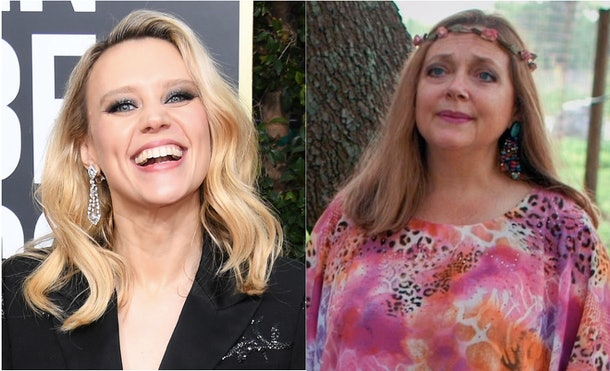 Kate McKinnon will play Carole Baskin from 'Tiger King' in an upcoming show.