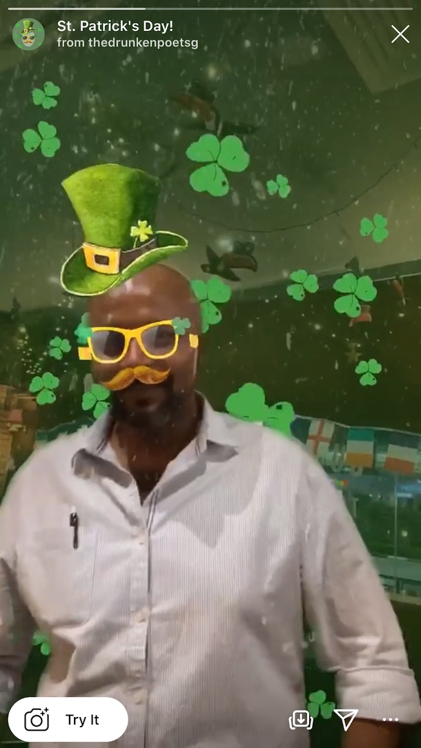 6 Instagram Filters For St. Patrick's Day that'll add a festive touch to your Stories