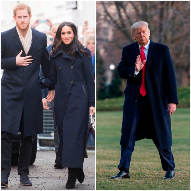Prince Harry, Meghan Markle, Donald Trump