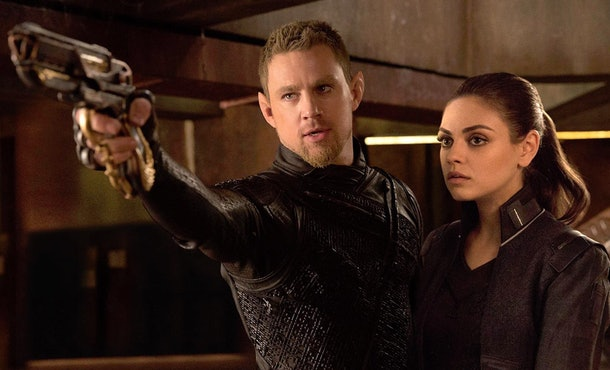 'Jupiter Ascending' received negative reviews and is available on Netflix.