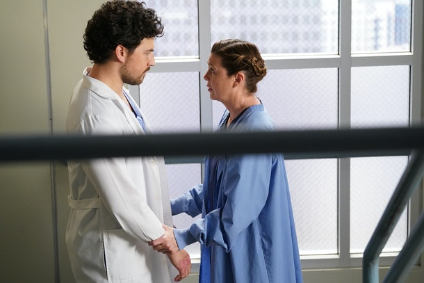 Grey's Anatomy Deluca & Meredith