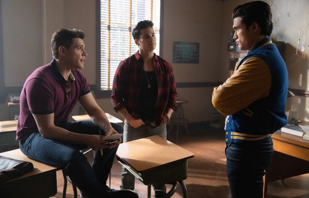 Photos from 'Riverdale' Season 4, Episode 18 tease Archie and Betty's romance.