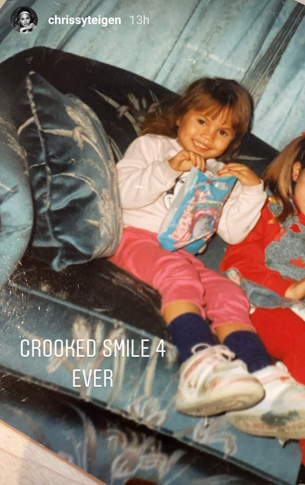 Chrissy Teigen's latest childhood photos look like Zendaya and Luna at the same time and it's blowing fans' minds.
