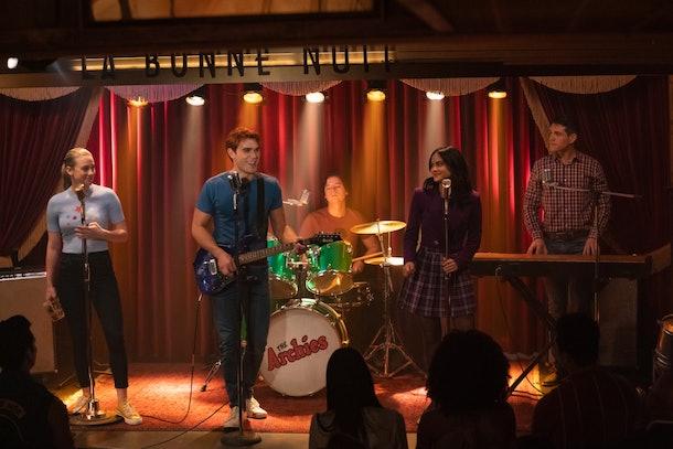 Jughead will sing in 'Riverdale' Season 4's musical episode.