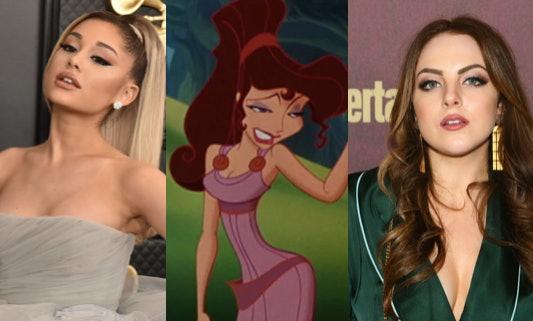 Ariana Grande, Megara, Elizabeth Gillies