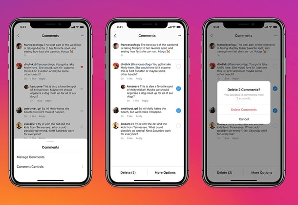 Instagram is testing pinned comments and adding new anti-bullying features that'll put you in control.