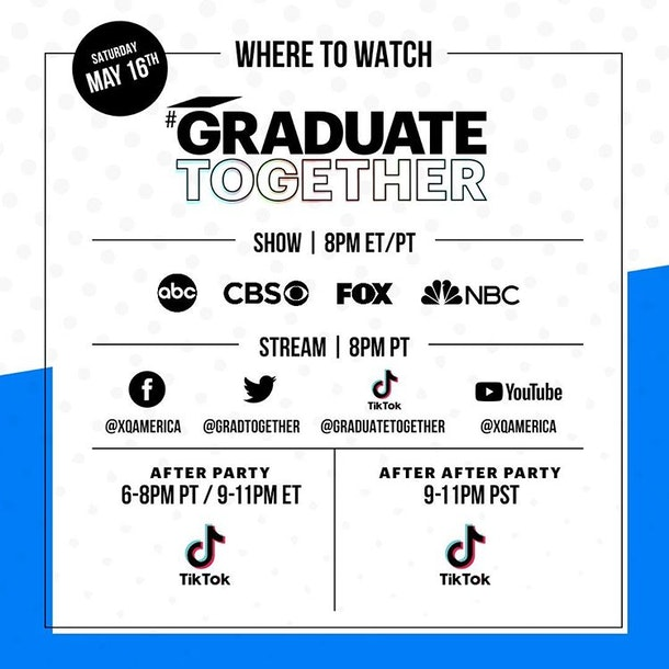 Here's how to watch 'Graduate Together' for a virtual send-off.