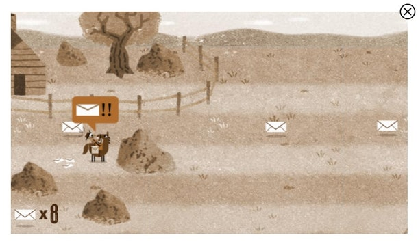 The 14 best Google Doodle games to play include a western-themed game.