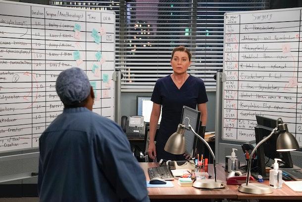 Meredith Grey may be diagnosed