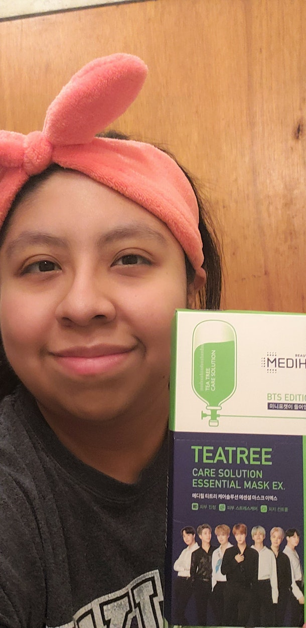 I tried BTS' Mediheal masks and I was surprised by the results.