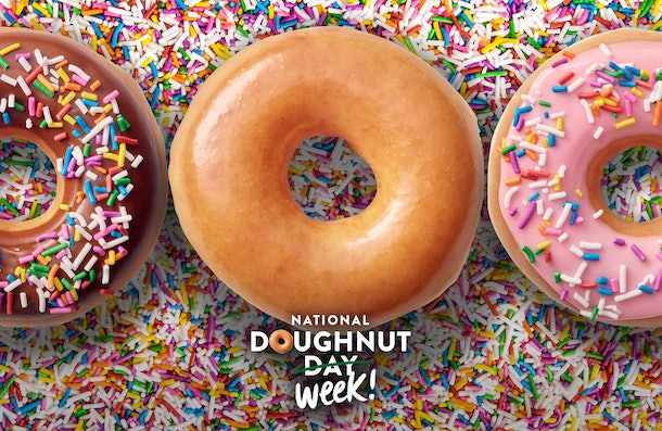 Krispy Kreme's National Doughnut Day 2020 deal is coming for five days in a row.