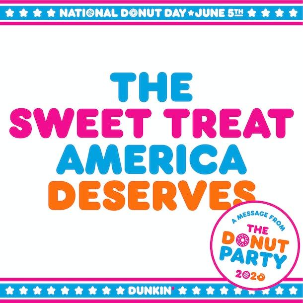 Dunkin's National Doughnut Day 2020 deal includes weekend-long discounts.