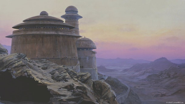 These 'Star Wars' Zoom backgrounds will take you to a galaxy far, far away.