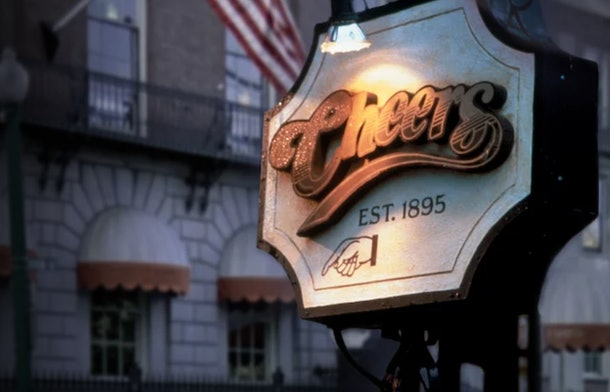 'Cheers' is available on Netflix