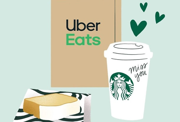 "Uber Eats' new ""Share this Delivery"" feature helps you send treats from afar."