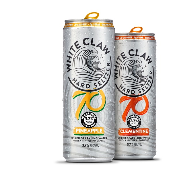 These new White Claw Pineapple and Tangerine flavors will have you so ready for the summer.