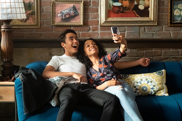 Mia and Victor from Hulu's 'Love, Victor.""