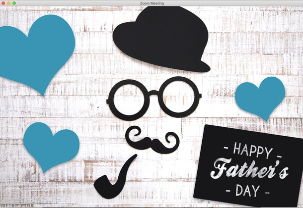 These Father's Day Zoom Backgrounds will make for a fun virtual celebration.