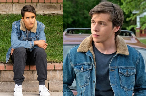 'Love, Victor' and 'Love, Simon' jean jacket
