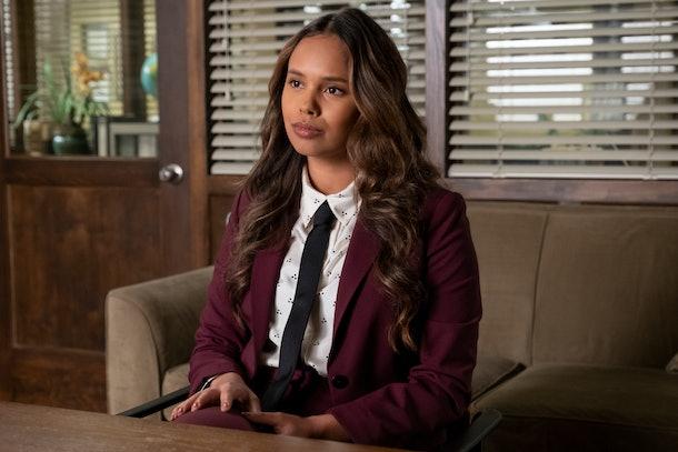 Alisha Boe as Jessica Davis in '13 reasons Why' Season 4