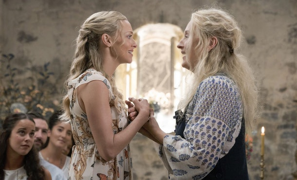 Meryl Streep's 'Mamma Mia' character Donna died in the second movie.