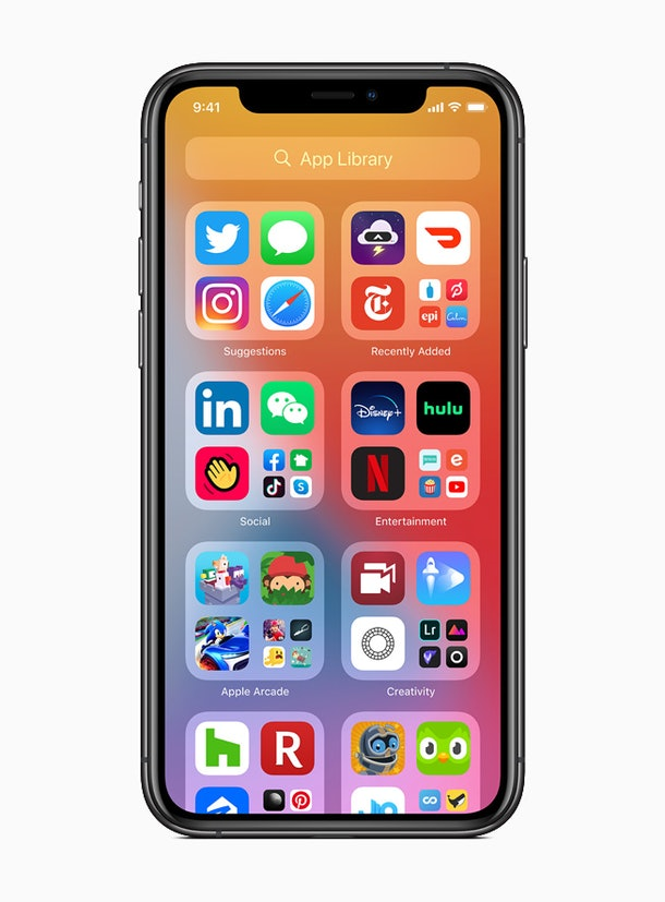 Apple is updating the home screen in iOS 14.