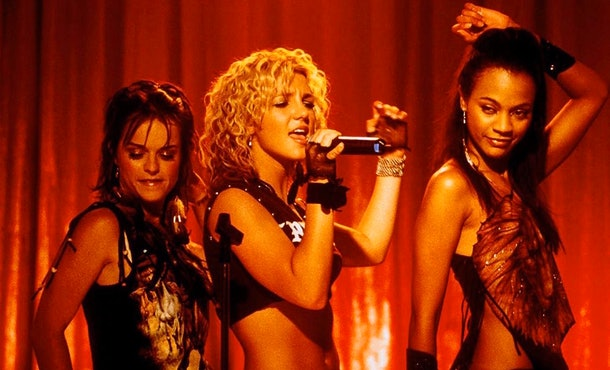 "Britney Spears covered ""I Love Rock 'n' Roll"" in 'Crossroads.'"