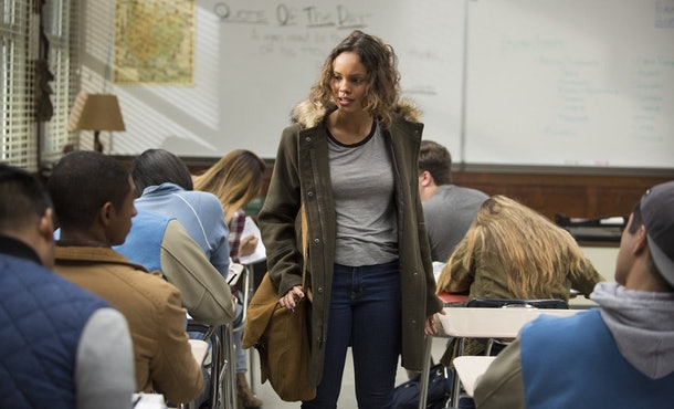 Estela joined Jessica's group Hands Off in '13 Reasons Why' Season 4.