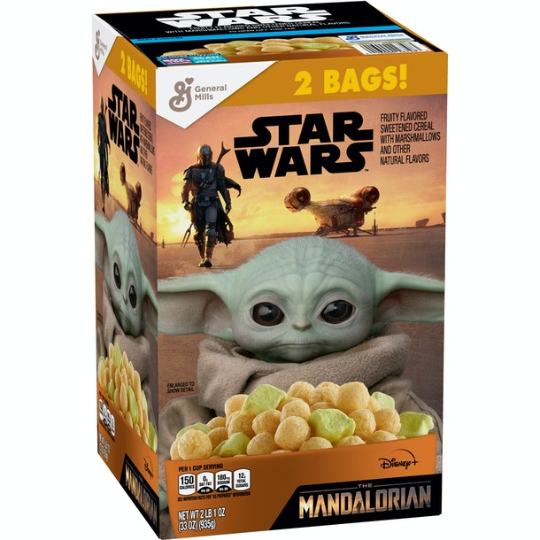 Baby Yoda cereal is coming to Sam's Club mid-July.