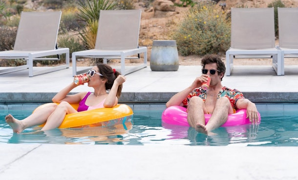 Theories about the ending of 'Palm Springs' on Hulu try to make sense of what happened.