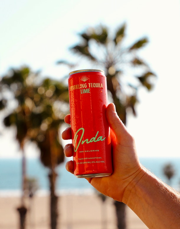 The new Onda sparkling tequila cans have a 5% ABV comparable to hard seltzer.