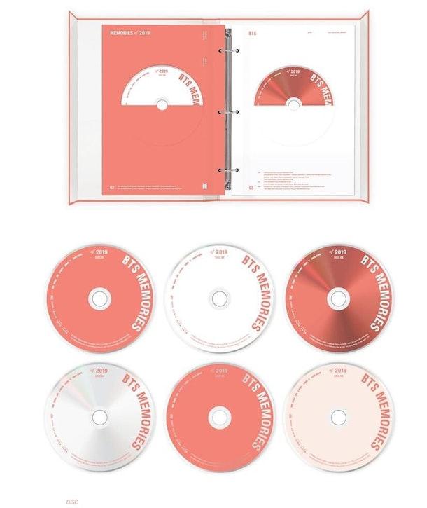 BTS' Memories DVD