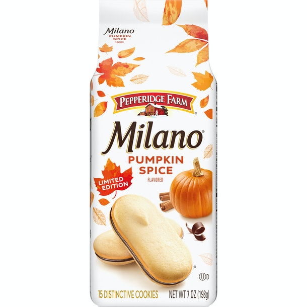 Pumpkin Spice Milanos are coming back for fall 2020, and here's where to get them.