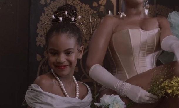 Blue Ivy Carter appears on Beyoncé's 'Black Is King' album.