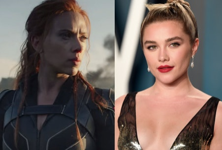 Scarlett Johansson in 'Black Widow' and Florence Pugh