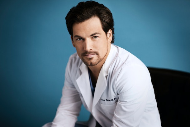 Giacomo Gianniotti in 'Grey's Anatomy'