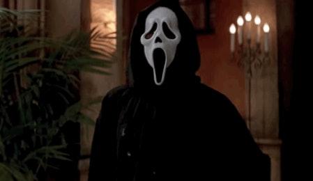 Ghostface from 'Scream'