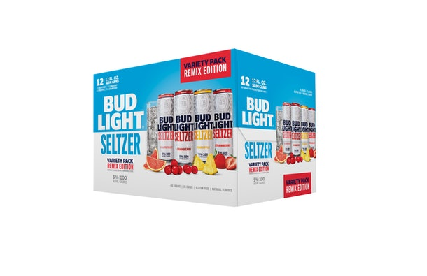 These new Bud Light Seltzer flavors in the Remix Pack feature grapefruit and pineapple options.