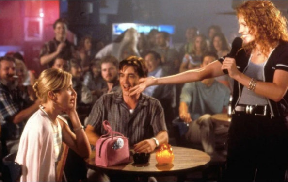 This karaoke scene is one of the dates inspired by classic movies you'll definitely want to try.
