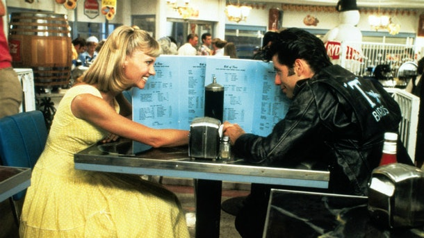 """One of the dates inspired by classic moves is a diner scene in """"Grease."""""""