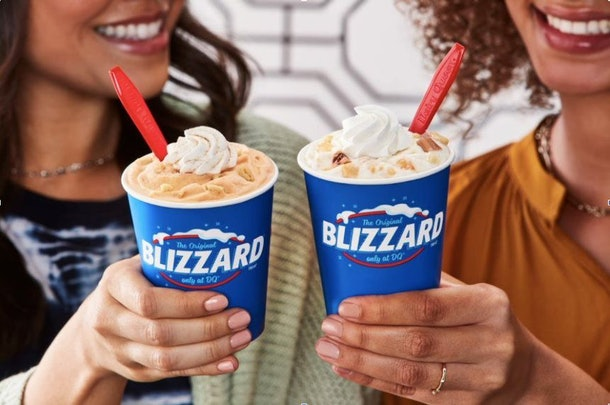 Dairy Queen's 2020 Fall Blizzard menu and candle collection includes pumpkin pie-inspired offerings.