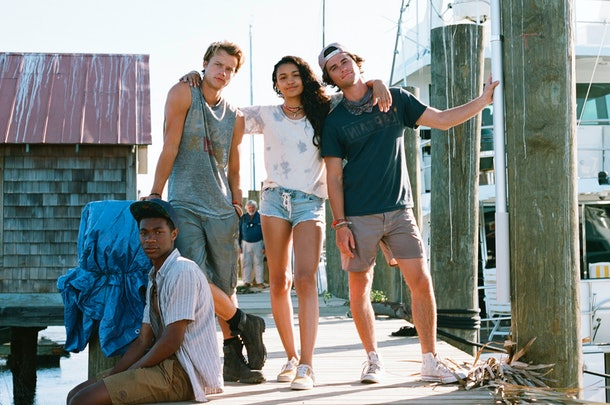 'Outer Banks' cast