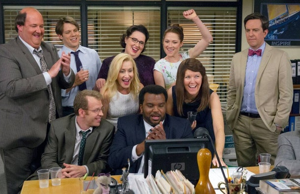 The cast of NBC's 'The Office'